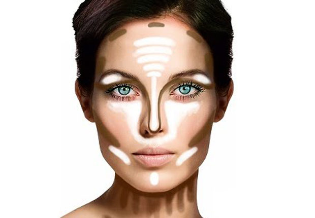 Image result for highlighting face techniques