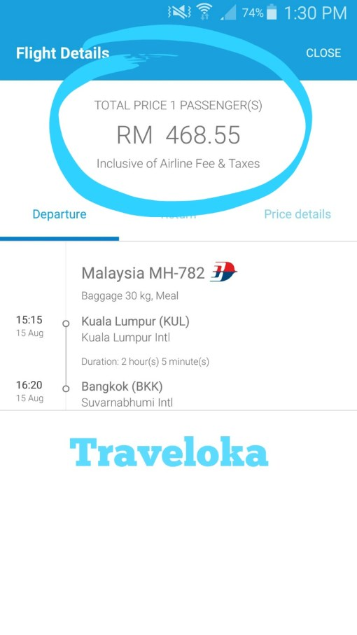 Traveloka-a mobile app for cheap flights around South East Asia