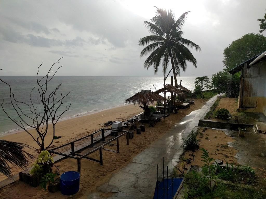 rain on hatta island