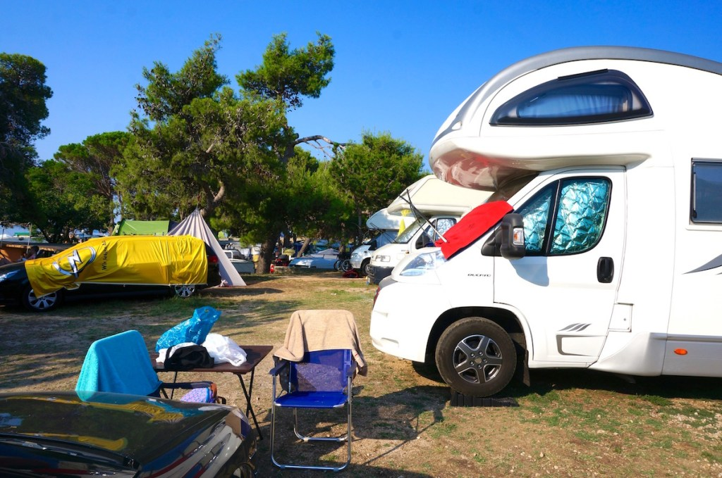 cramped camping at camp padova 3