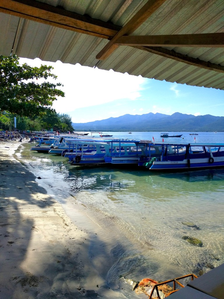 pier at Gili Air