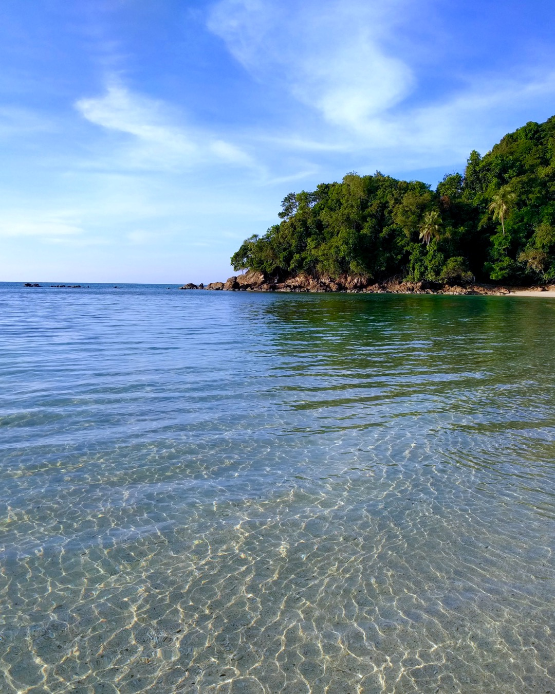 Harmony Campsite's Beach on Pulau Kapas