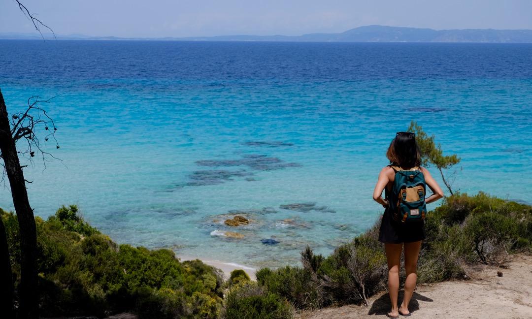 Secret Mega Portokali Beach in Sithonia, Greece