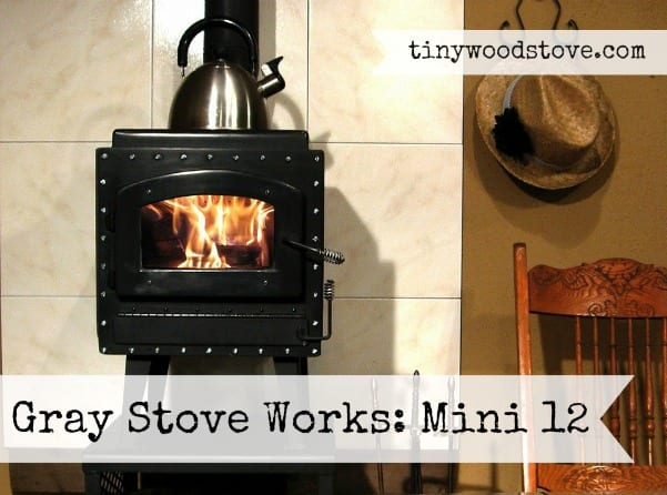 Tiny Wood Stove Mini 12