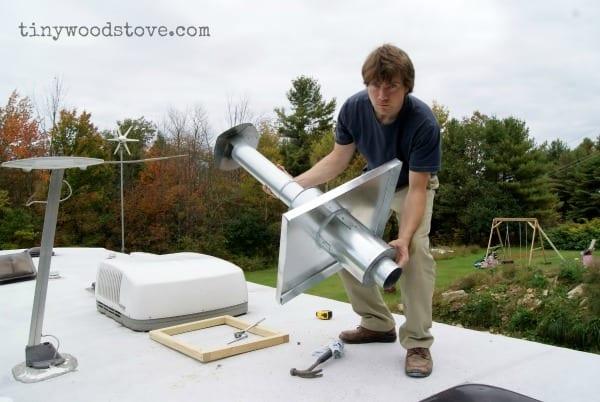Case Study Tent Stove To Heat Rv Tiny Wood Stove