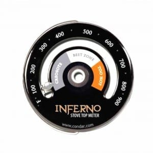 Small Stove stove thermometer