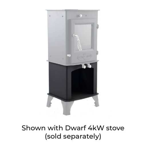 4kW Wood Storage Stand with Dwarf 4kW and Standard Legs
