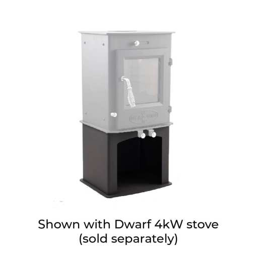 4kW Wood Storage Stand with Dwarf 4kW