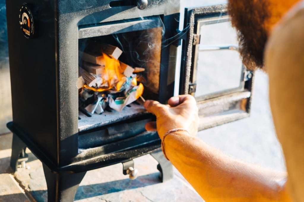 Lighting Fire in Dwarf 3kW