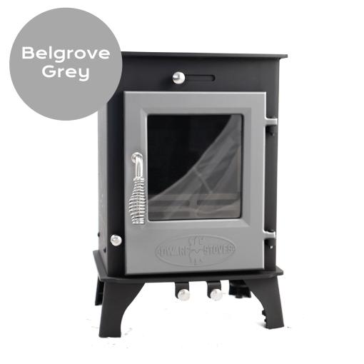 Belgrove Gray Enameled Door