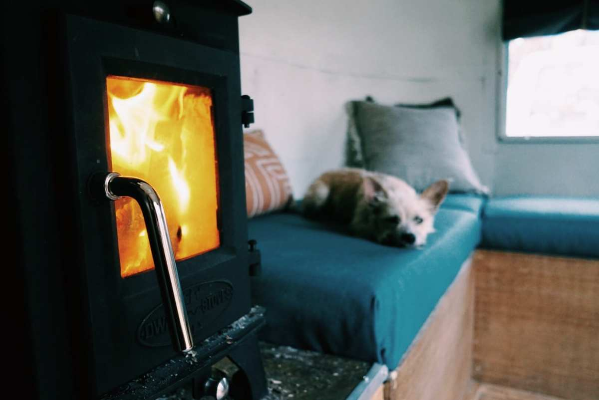 Wood heat can be a beautiful feature and a practical consideration