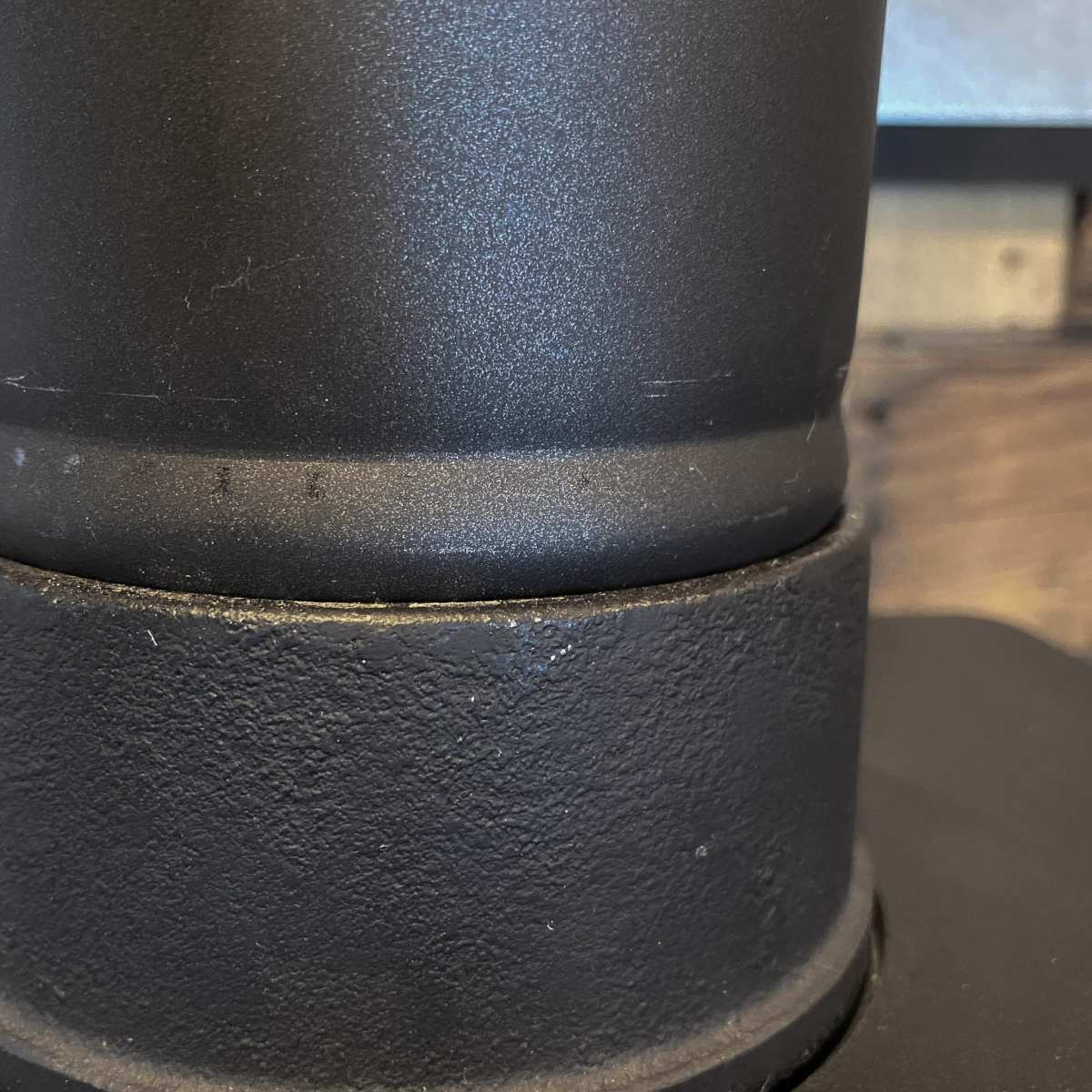 Fully Seated Stovepipe in Flange