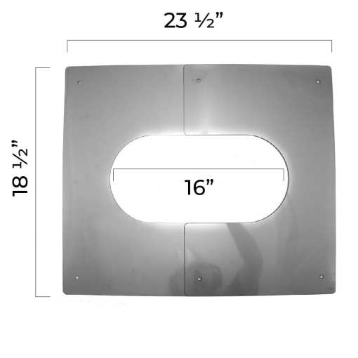 5 Inch Interior Trim Plate Extended Dimensions