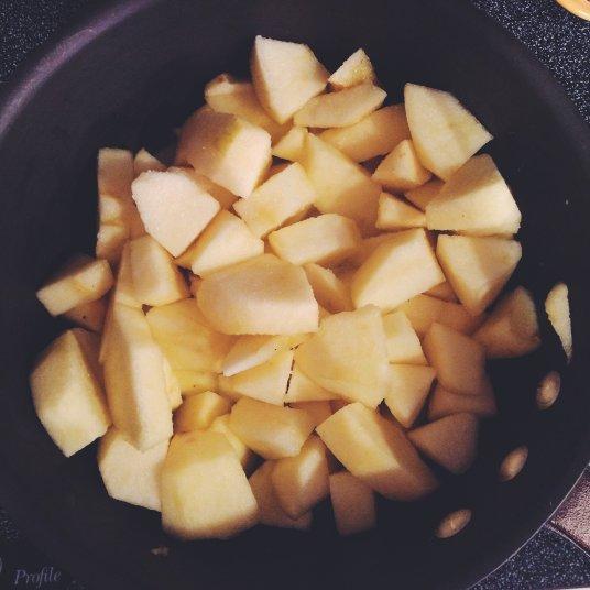zero waste homemade applesauce