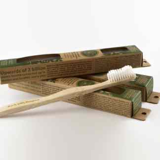 bamboo toothbrush family 4-Pack