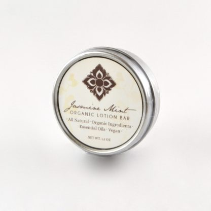 organic vegan lotion bar
