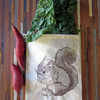 Squirrel Reusable Produce Bag