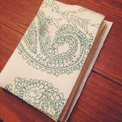 Organic Handkerchief Book Paisley