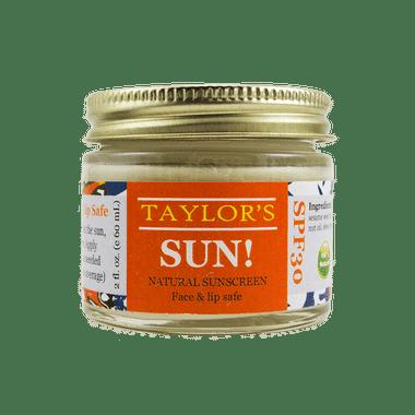 organic zero waste sunscreen