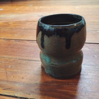 Small Handcrafted Stoneware Cup