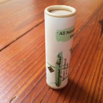 Vegan Organic Lip Balm in Biodegradable Tube