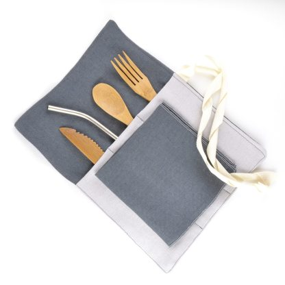 zero waste utensil wrap