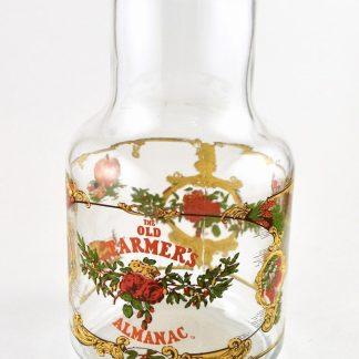 Farmer's Almanac Glass Juice Jug