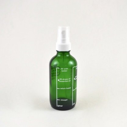 Glass Refillable Fine Mist Spray Bottle