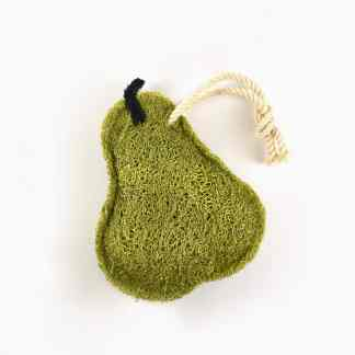 Pear Natural Loofah Kitchen Scrubber