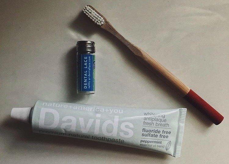 making the switch to zero waste toothpaste
