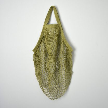 Sage Reusable Cotton String Bag
