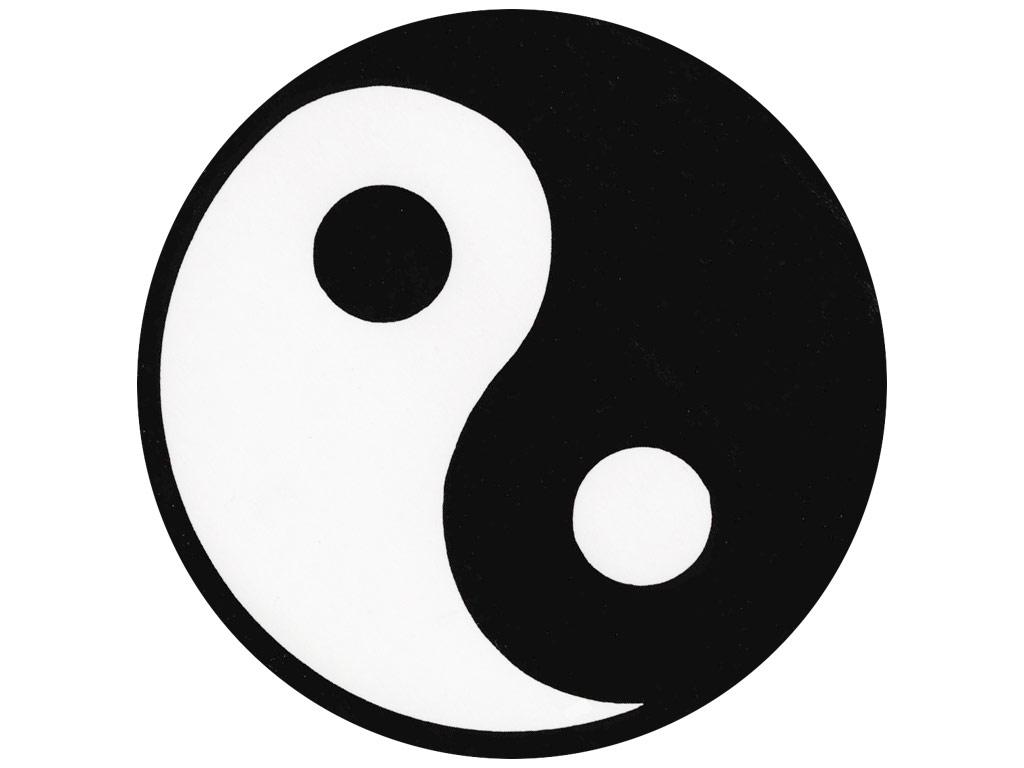 Simbol Tao Tai Ji Yin Yang Tionghoa Tradisi Dan Budaya Tionghoa