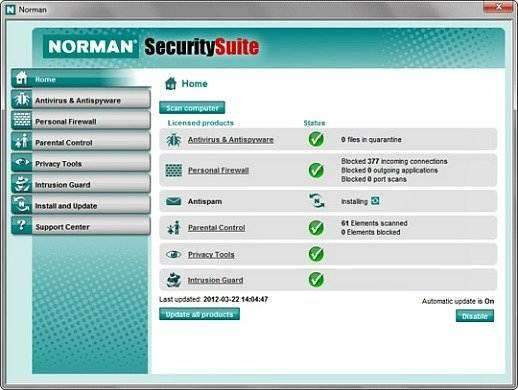 Norman Security Suite 10 Free Download With Genuine License Key Code