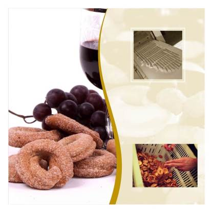 Taralli dolci al vino rosso forno preite
