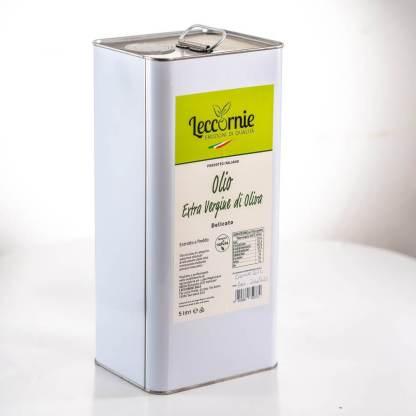 Olio Extravergine di oliva Delicato - Lattina 5L