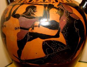 Olivo-miti-vaso-greco-ulisse-acceca-polifemo
