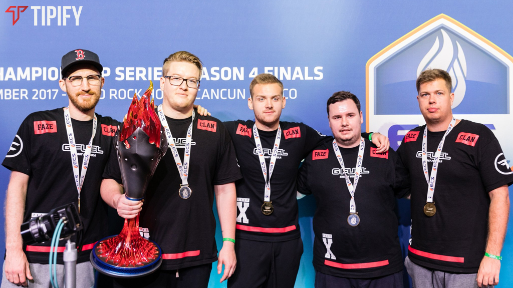 FaZe Ends The Final CS:GO Tournament Of 2017 As Champions - Tipify