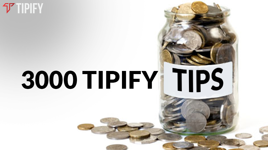 Tipify Reaches 3,000 Winning Tips - Tipify