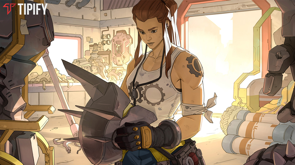 Brigitte Lindholm Is Overwatch's 27th Hero - Tipify
