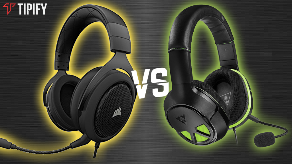 Tipify - Tech Review Tuesday: Corsair HS50 Stereo vs Turtle Beach XO Three