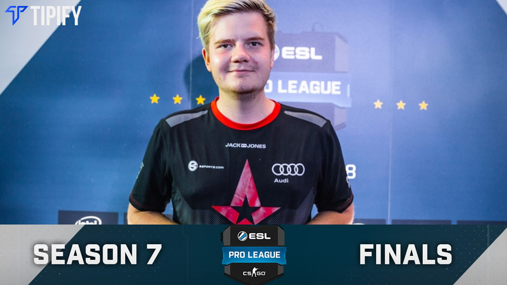 Astralis' Dupreeh is HLTV & Betway's EPL S7 MVP - Tipify