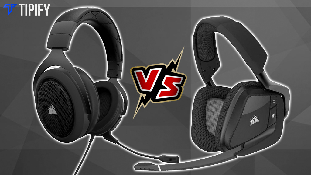 Tech Review Tuesday: Corsair Void Pro RGB Wireless vs Corsair HS50 - Tipify