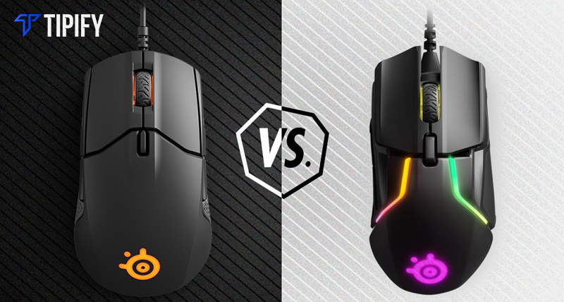 SteelSeries Rival 600 vs SteelSeries Sensei 310 - Tipify