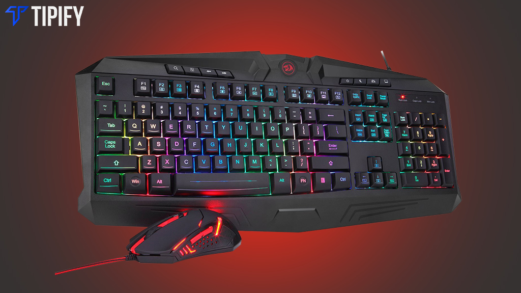 Bundle Steal: Redragon S101 Gaming Keyboard Mouse Combo
