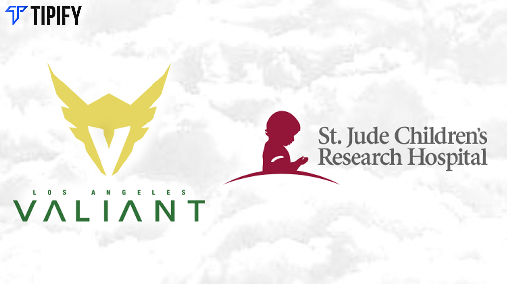 St. Jude Completes First Esports Partnership With LA Valiant - Tipify
