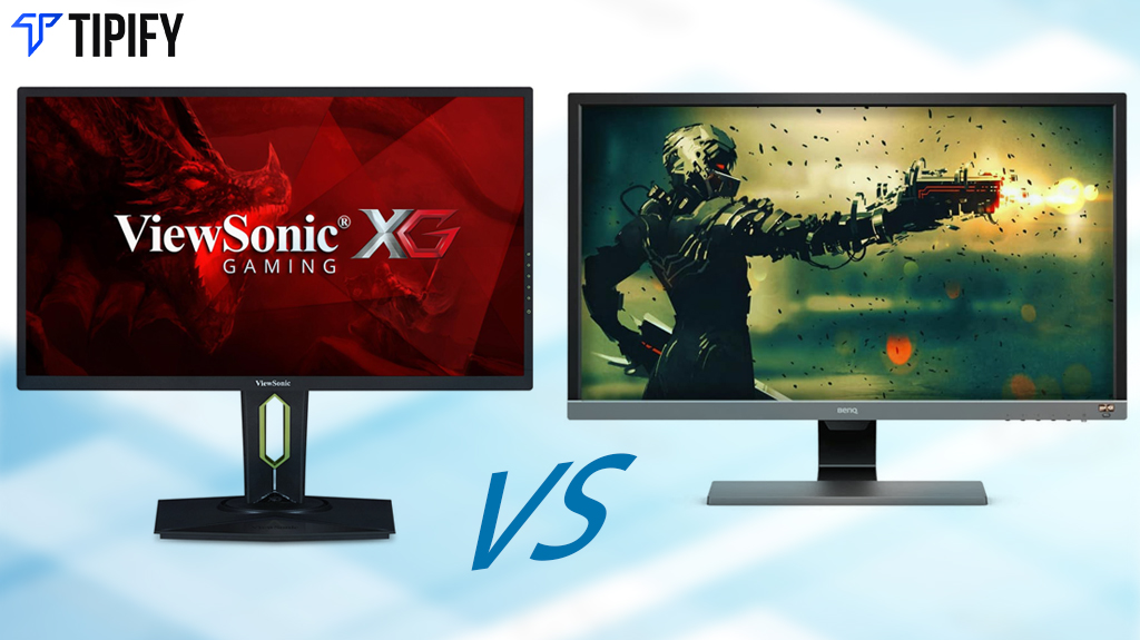 Face Off: ViewSonic XG2560 vs BenQ EL2870U