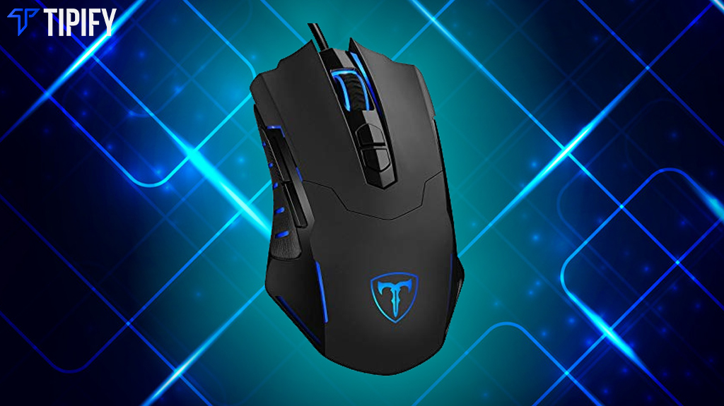 PICTEK T7 Wired Gaming Mouse: Classic And Ergonomic