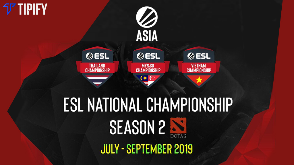 ESL SEA National Championships Is Set For Season 2 - Tipify