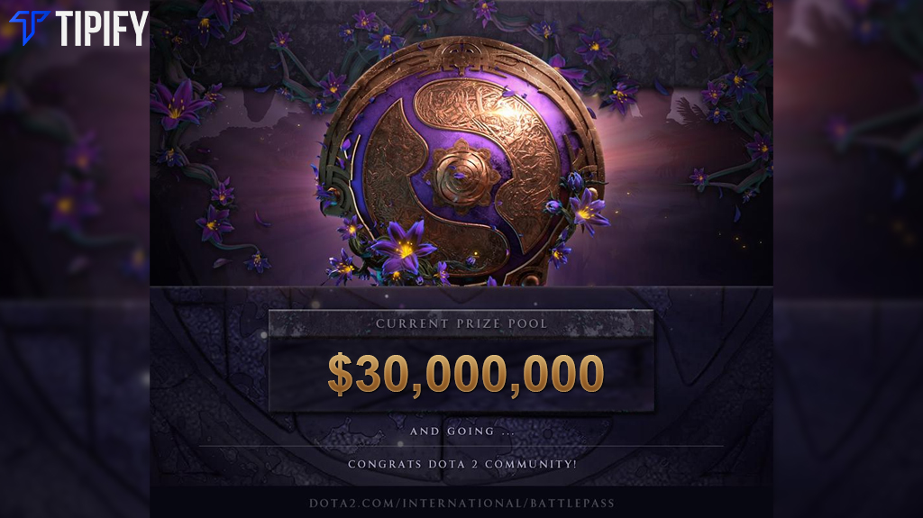 The International 9 Breaks Record With $30M Prize Pool - Tipify