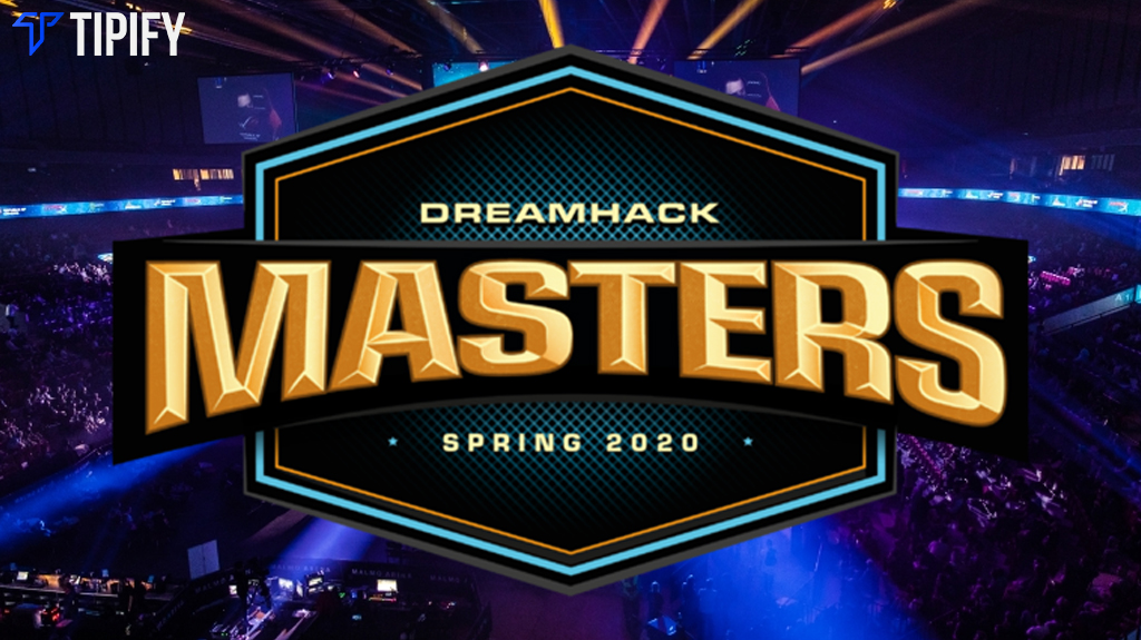 DreamHack Masters Spring Online: Group, Bracket Distribution - Tipify